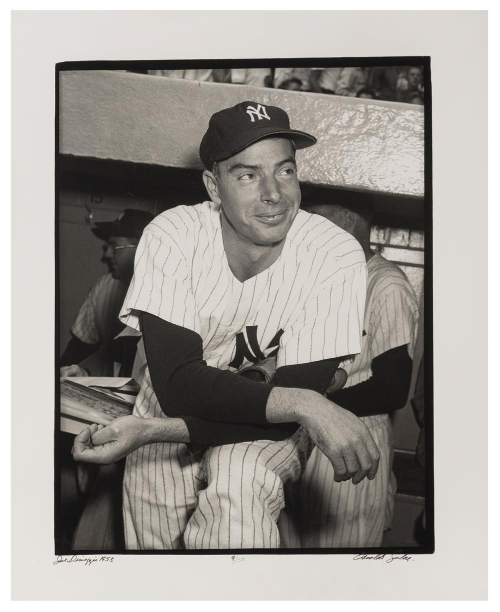 SALAS, OSVALDO (CUBAN, 1914-1992). JOE DIMAGGIO. NEW YORK, ...