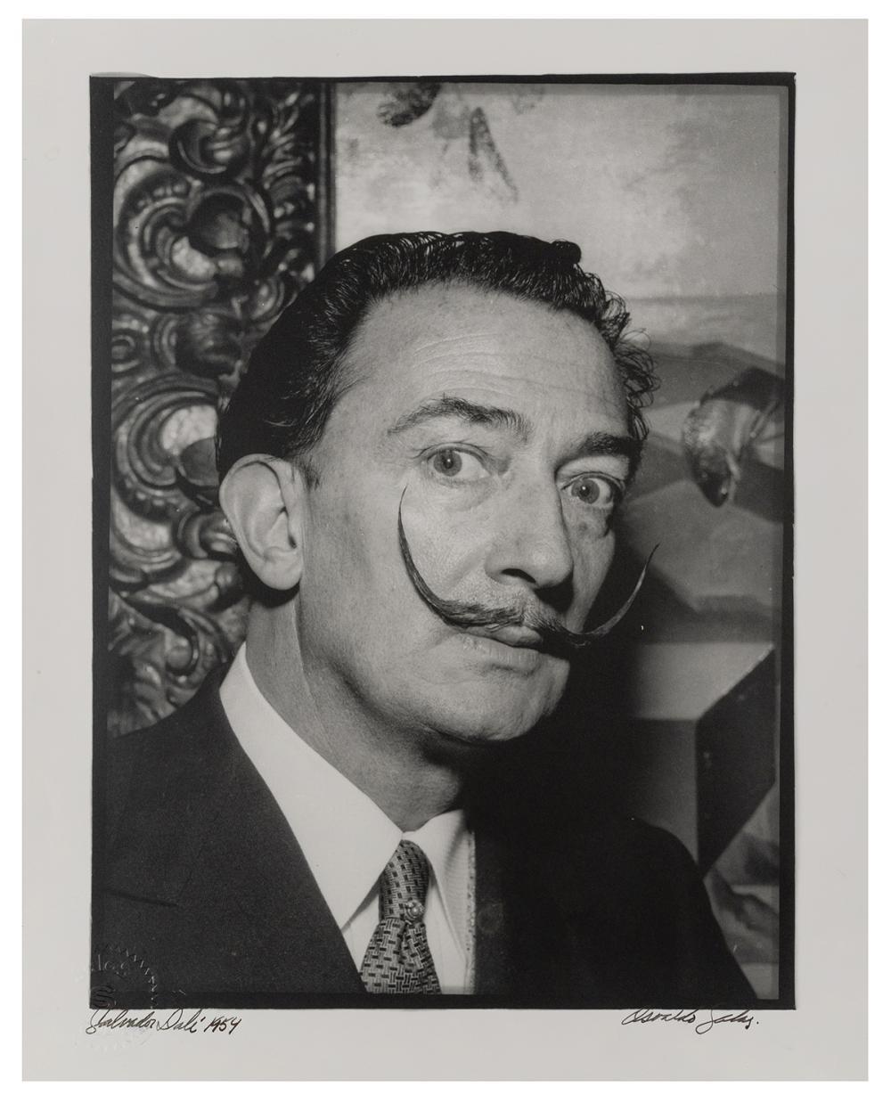 SALAS, OSVALDO (CUBAN, 1914-1992). SALVADOR DALI. 1954. LAT...