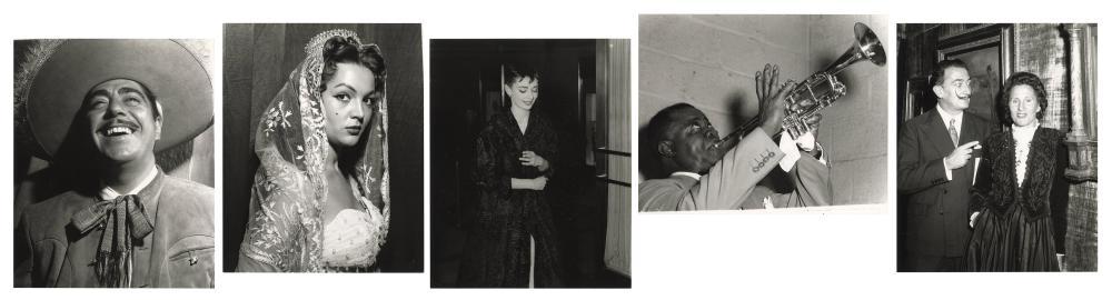 SALAS, OSVALDO (CUBAN, 1914-1992). A LARGE GROUP OF CELEBRI...
