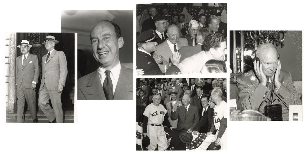 SALAS, OSVALDO (CUBAN, 1914-1992). A LARGE GROUP OF POLITIC...