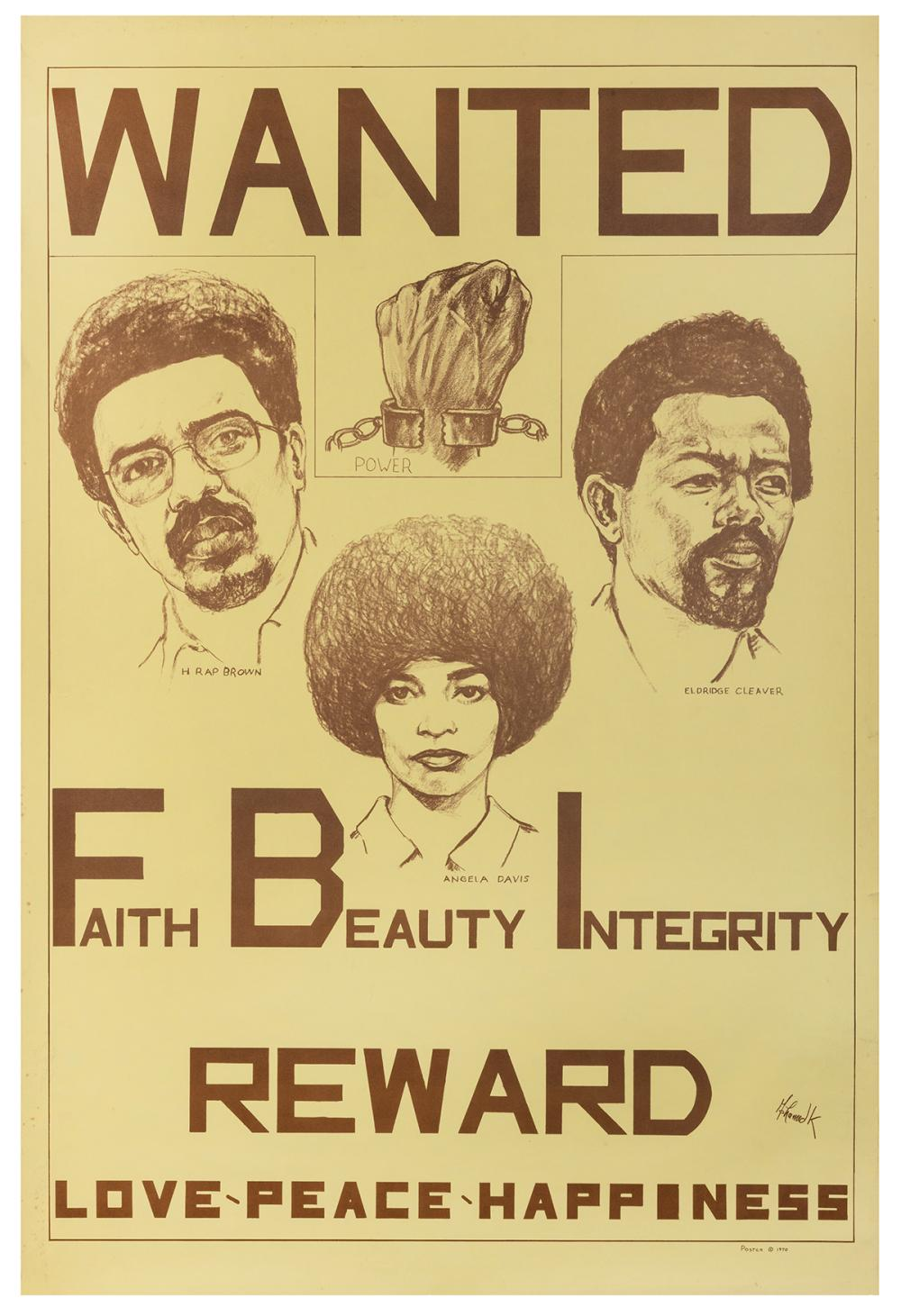 MOHAMED K. WANTED: FAITH BEAUTY INTEGRITY. REWARD: LOVE PEA...