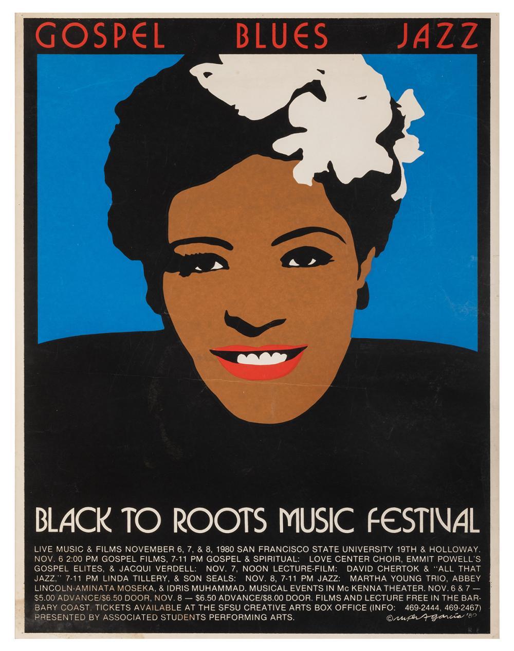 GARCIA, RUPERT. BLACK TO ROOTS MUSIC FESTIVAL. SAN FRANCISC...