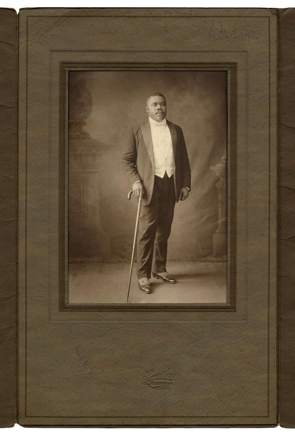 GARVEY, MARCUS (1887-1940). SCURLOCK STUDIO PORTRAIT OF MAR...