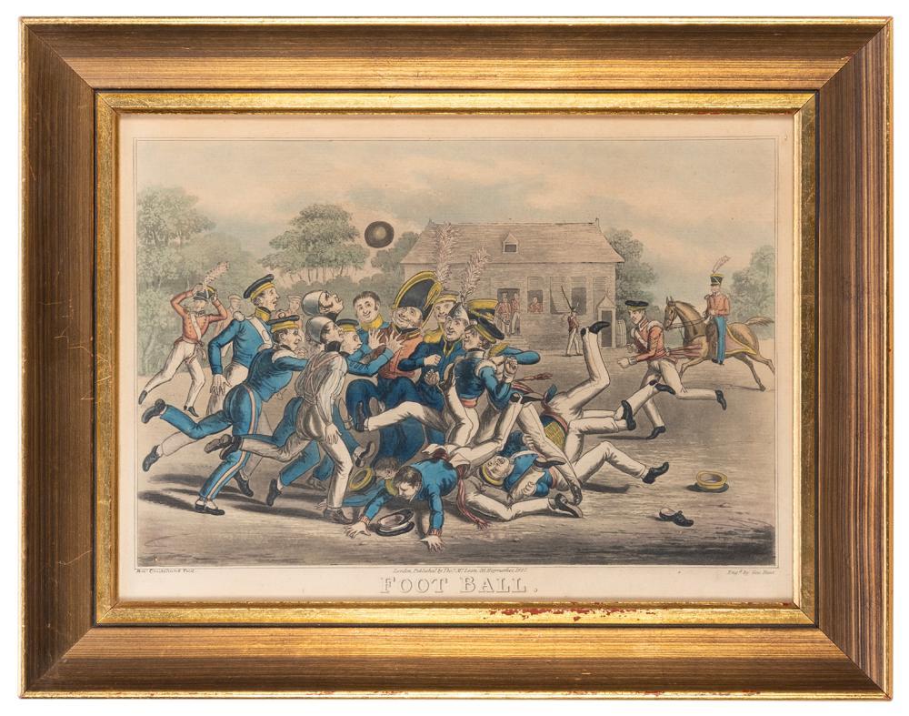 [FOOTBALL]. CRUIKSHANK, GEORGE (1792-1878). FOOT BALL. LOND...