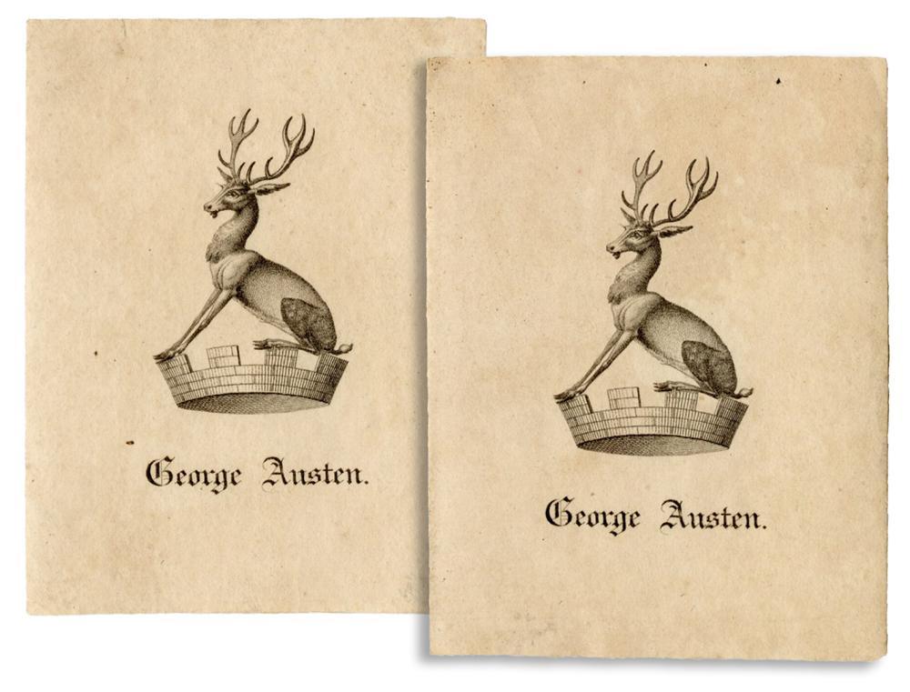 [AUSTEN, JANE (1775-1817)]. -- AUSTEN, GEORGE (1731-1805). ...