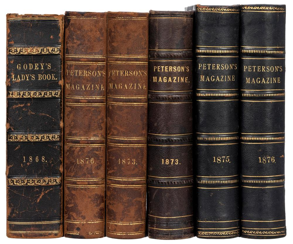 [LADIES BOOKS]. A GROUP OF PETERSON'S MAGAZINES. INCLUDES T...