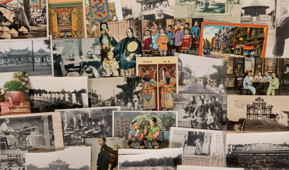 [CHINA]. PRE 1940 CHINA AND CHINATOWN POSTCARD COLLECTION. ...