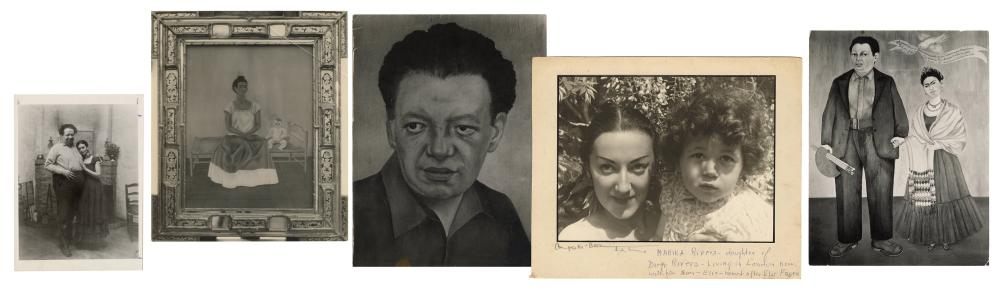 [KAHLO, FRIDA (MEXICAN, 1907-1954) AND RIVERA, DIEGO (MEXIC...