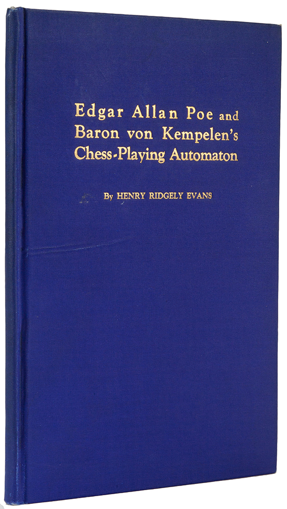 Edgar Allan Poe and Baron von Kempelen s Chess-Playing Autom
