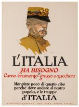 Illian, George John (1894–1932). L'Italia Ha Bisogno. 1917....