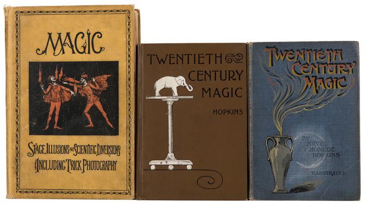hopkins nevil monroe three volumes on magic