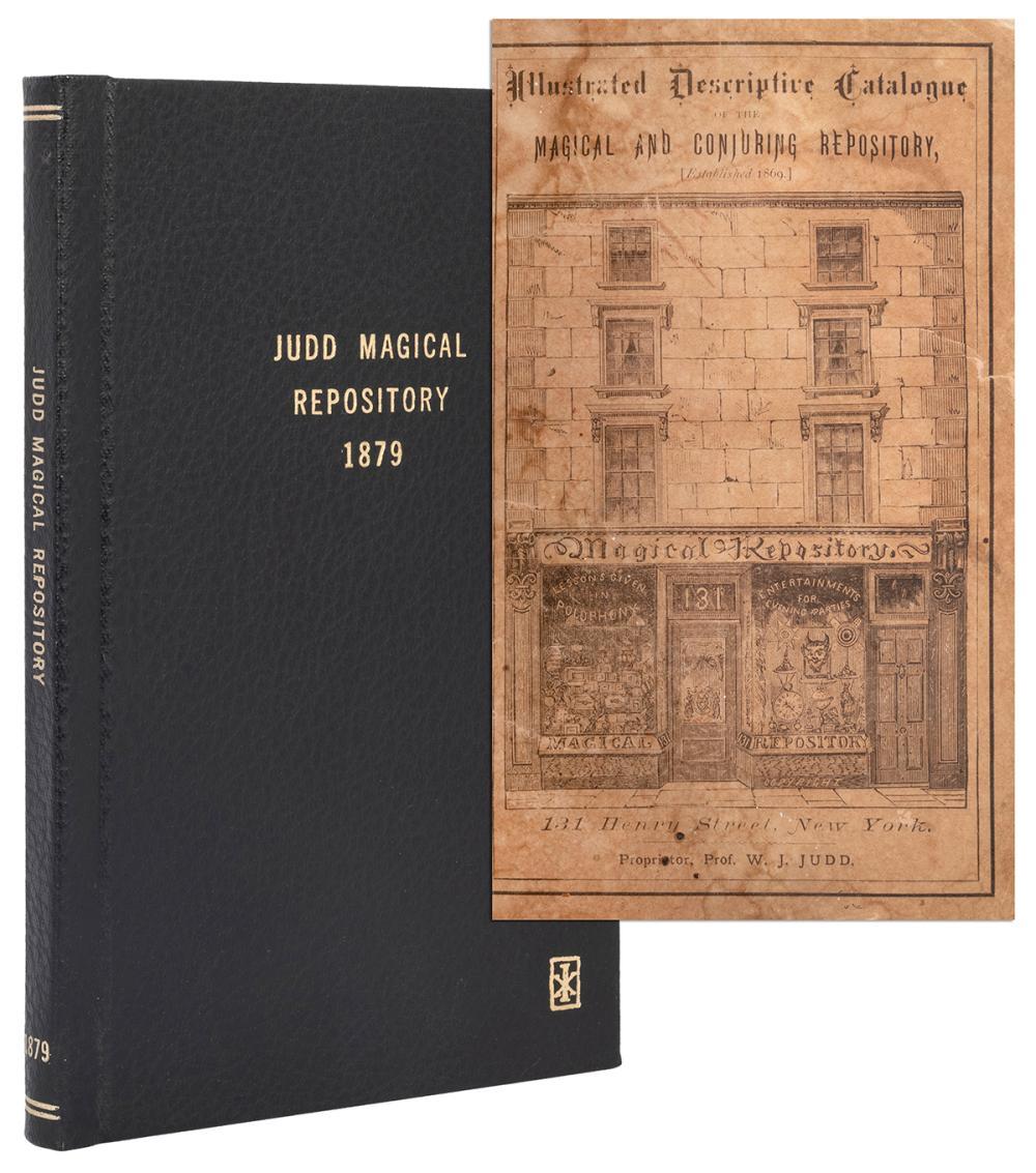 W.J. JUDD. ILLUSTRATED AND DESCRIPTIVE CATALOG OF THE MAGIC...