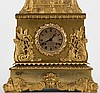 Mandarin Magician Automaton Clock. Paris: J.F. Houdin, ca. 1836. Magnificent ormolu decorated eight day chiming clock atop which rests an elaborately decorated and highly detailed Mandarin conjurer, dressed in an elaborate robe with detailed floral