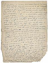 Elliott, Dr. James William. Autograph Card Manipulation Challenge Letter, Signed ñDr. Elliott.î Boston, 1900s. On one 4to sheet of ElliottÍs pictorial letterhead, recto blank, the verso bearing a handwritten draft of ElliottÍs famous challenge to