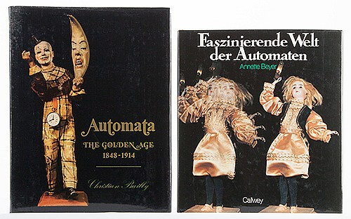 [Automata] Two Reference Books on Automata. Including Automata: The Golden Age (SothebyÍs, 1987) and Faszinkierende Welt der Automaten (1983). Illustrated. Heavy 4tos, with dust-wrappers. Near fine.