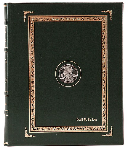 Klosterman, Ken. Salon De Magie. Loveland: Author, 2006. Deluxe Presentation Copy. Signed and numbered by the author, being number 20 of 50 copies finely hand-bound in top-grain leather, stamped in gilt, front cover with inlaid publisherÍs token,