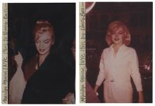 Three Marilyn Monroe Candid Photographs from the John Springer Collection.