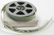 "A 16mm Marilyn Monroe Screen Test for ""Cold Shoulder."""