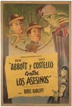 Abbott and Costello Meet the Killer Boris Karloff.