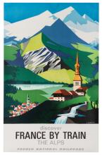 Jacquelin, Jean (1905-1989). Discover France by Train.