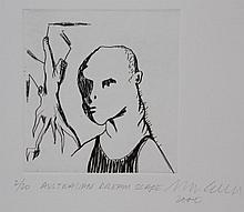 ADAM CULLEN   (1965 - 2012) Limited Edition Etching