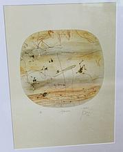 John Olsen Artist Proof Afternoon Signed Lower Right H27cm X W20cm