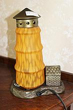 Beautiful Lighthouse Lamp H29cm