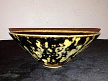 Chinese Porcelain Bowl Decorated With Birds &