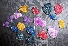 Assorted Pieces Of Colour full Quartz