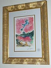Lying Nude, facsimile signed offset lithograph