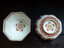 Pair Of Chinese Famille Rose Bowls. Nicely