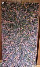 Patricia Kamara acrylic on canvas c2014 145cm x 77