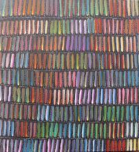 Patricia Kamara acrylic on canvas 71cm x 66cm