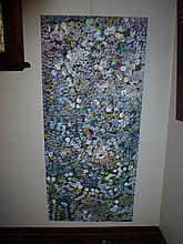 Polly Ngala acrylic on canvas Bush Plum