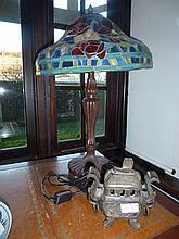 Tiffany Style Lead Light Lamp