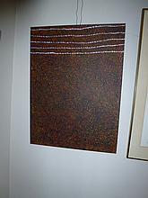 Kathleen Petyarre acrylic on canvas, Bush Seeds