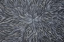 Patricia Kamara Acrylic On Canvas Bush Medicine Leaves 143cm x 88cm
