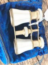 Pair of Antique Mother of Pearl Opera Glasses