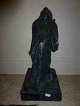 Balzac, bronze sculpture 75cm In Height Dressed In