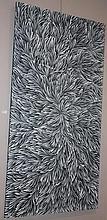 Patricia Kamara acrylic on canvas 143cm x 78cm