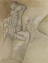 Christian d'ORGEIX (né en 1927) - Composition surréaliste.