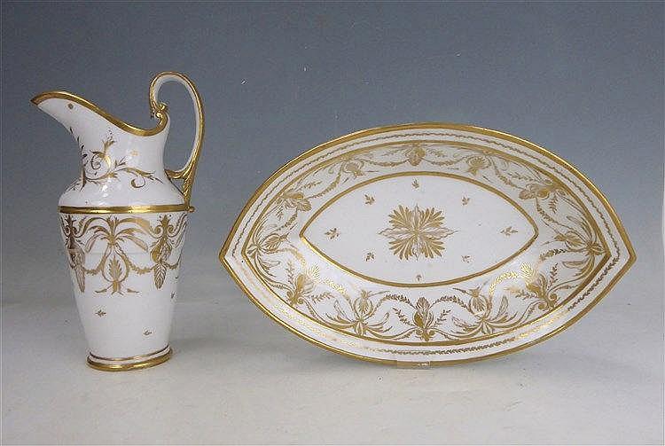 Paris aigui re et bassin de forme navette en porcelaine bl - Applique porcelaine blanche ...