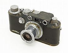 Leica IIIC Grey rebuilt into the IIIf
