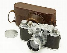 Leica IIIc  Red Curtain