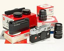 Leica M4-P 1913-1983 w. Summicron 2/50 & Tele