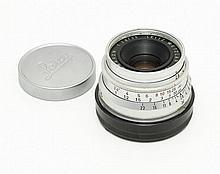 Leica Screw mount Summaron 2.8/35 with Leica M