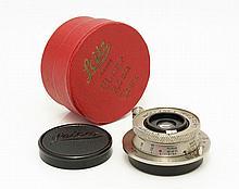Elmar 3,5/3,5cm Nickel Ekurz boxed