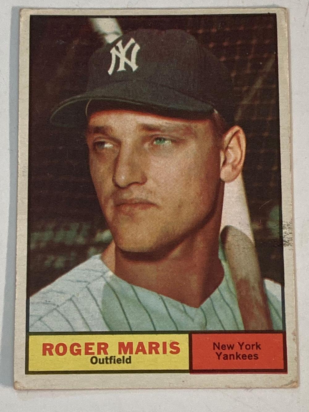 1961Topps #2 Roger Maris New York Yankees