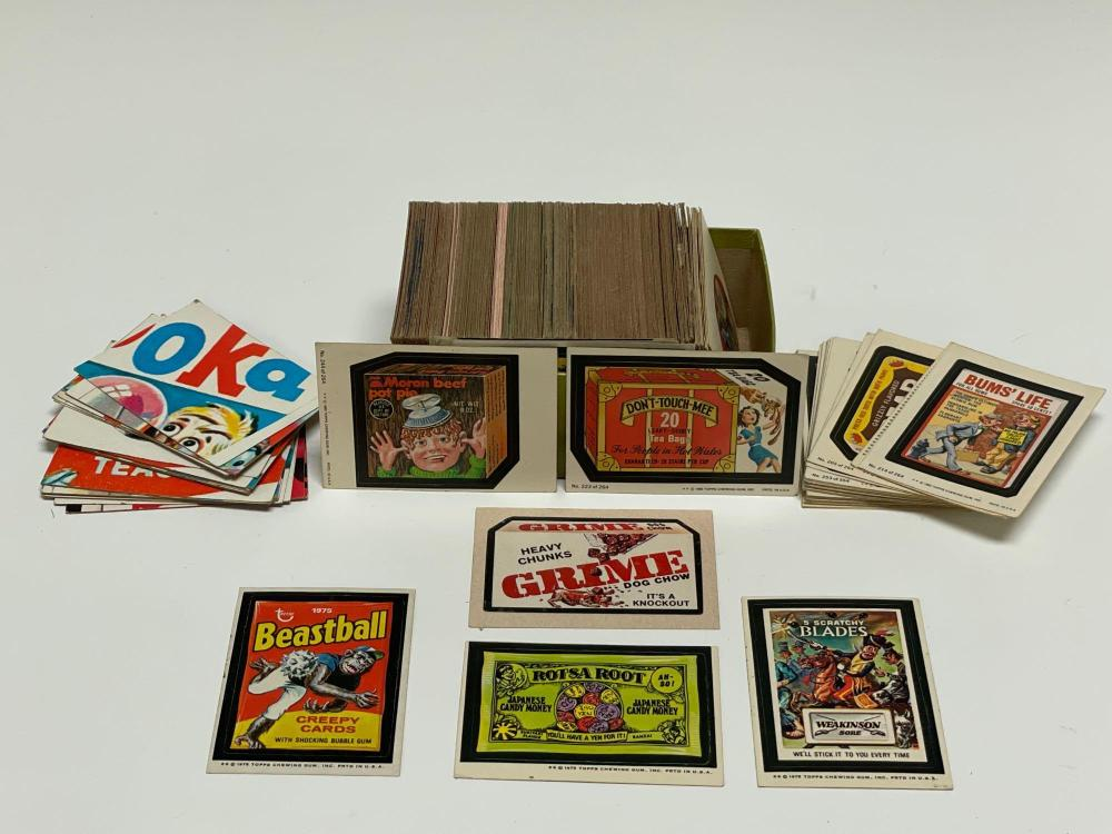 1970's Topps Wacky Pack Card Collection (200)+