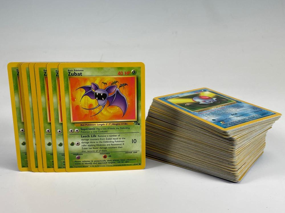 1999 Pokemon Fossil Card Collection (150) WOTC